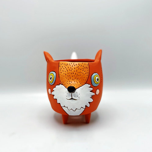 Allen Designs Fox Planter