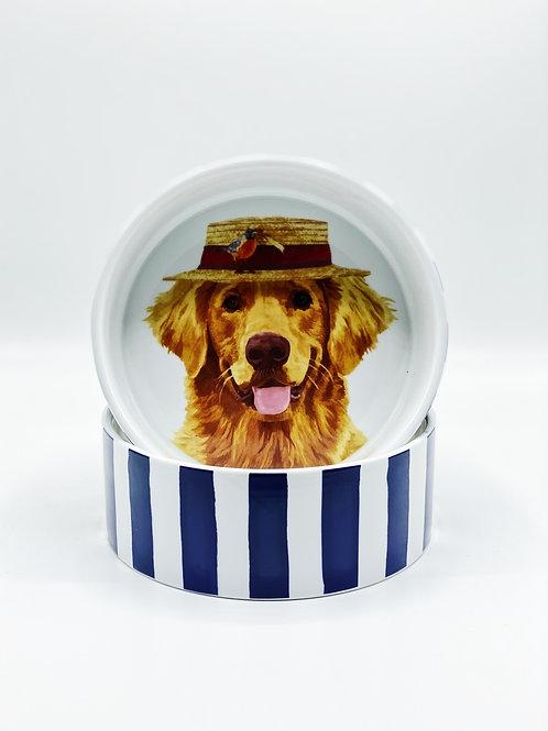 Gunther Dog Bowl