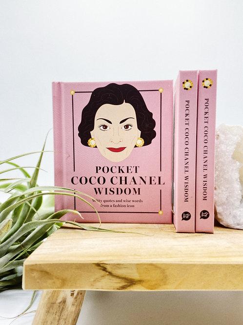 Pocket Coco Chanel Book