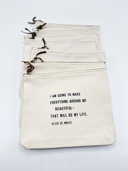 Canvas Bag Elsie De Wolf