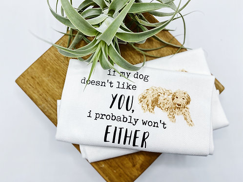 Either Dog Towel
