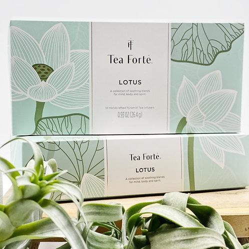 Tea Fortē Lotus Petite Presentation
