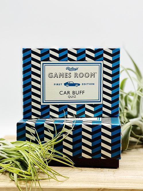 Car Buff Quiz