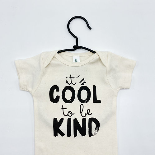 Cool To Be Kind Organic Bodysuit