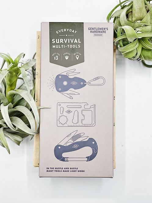 Survival Multi-Tools