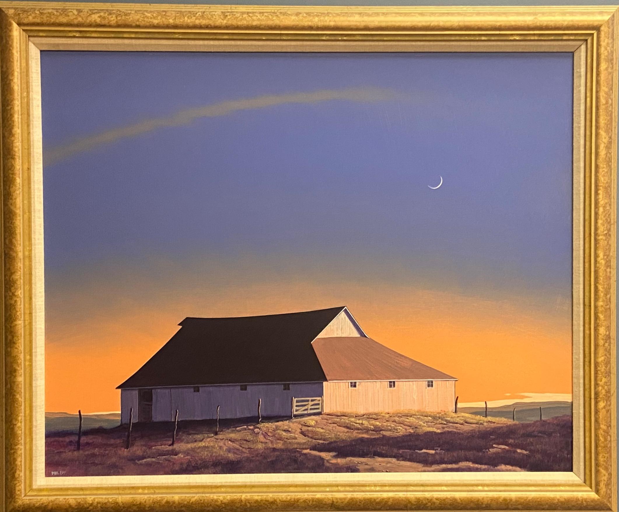 Barn in Moonlight