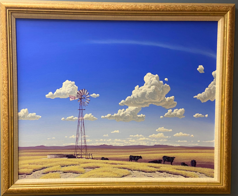 Daytime Windmill