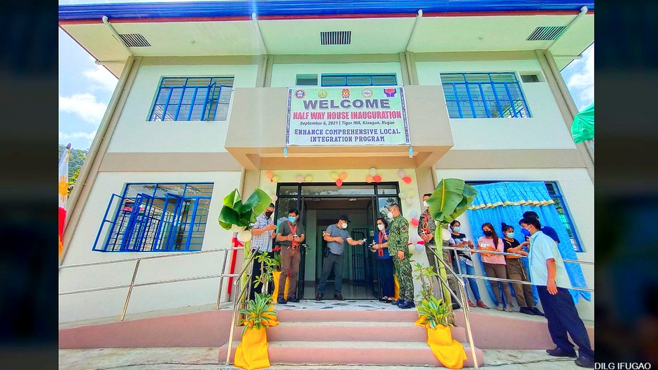 Ifugao builds P5M 'Halfway House' to temporarily shelter local rebel returnees