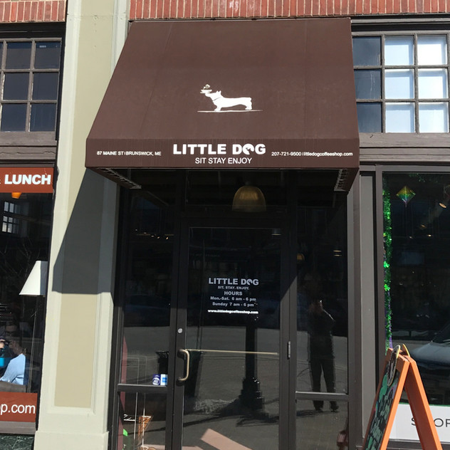 Commercial Awning - Little Dog