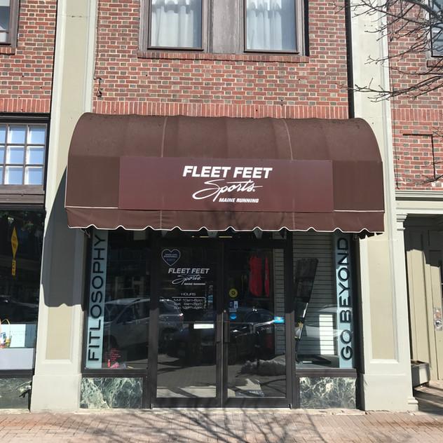 Commercial Awning - Fleet Feet