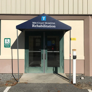 Commercial Awning - Midcoast Hospital