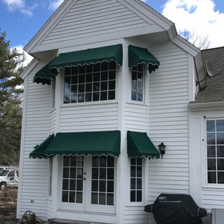 Residential Awning - Harpswell, ME