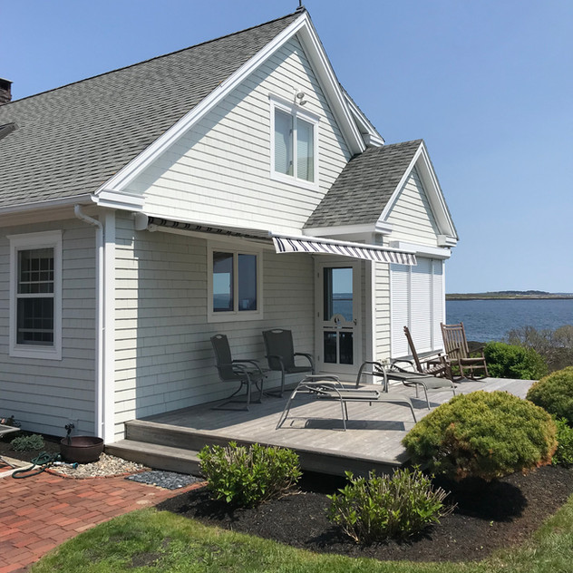Residential Awning -  Bailey's Island, ME