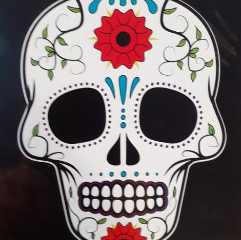 Calavera Mexicana #3