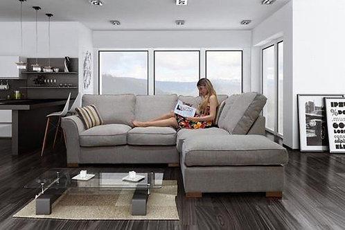 Paris Luxury  Fabric Corner Sofa
