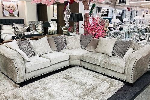 Signature  Luxury Fabric Corner Sofa
