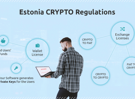 Company Registration included crypto license just 5,900€ in Estonia.