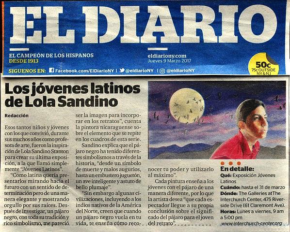 The article in El Diario La Prensa NYC