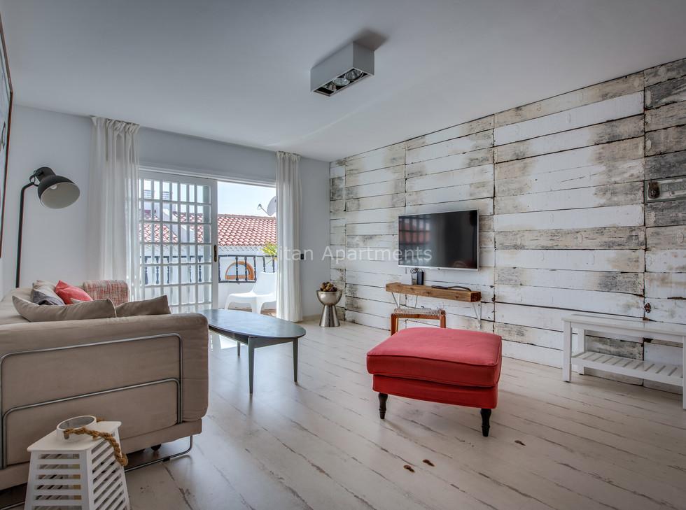 Living room  of Avitan Loft-1