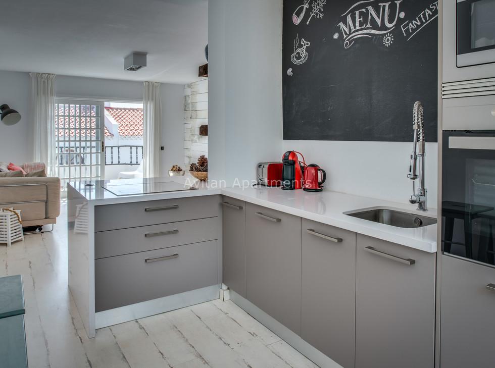 Kitchen of  Apartment Loft-1