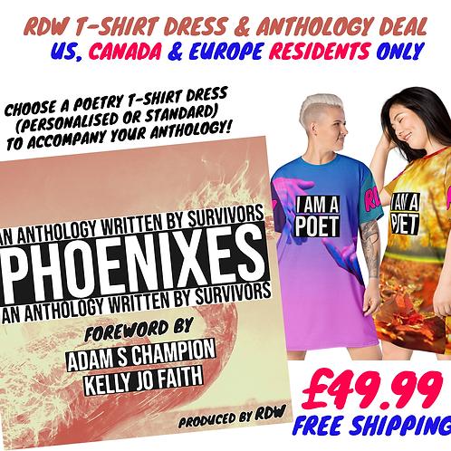 PHOENIXES PAPERBACK POETRY DRESS DEAL