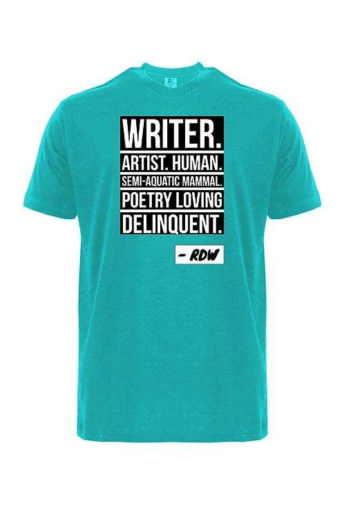 'WRITER. ARTIST. HUMAN' T-SHIRT