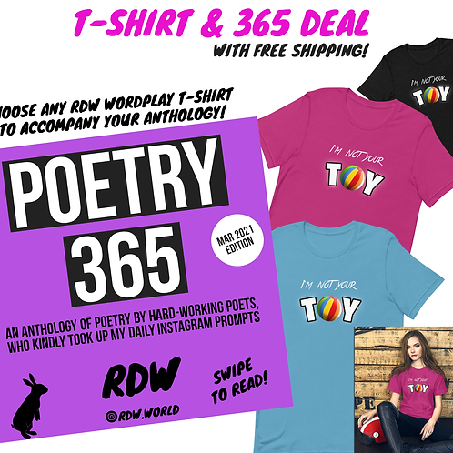VOLUME 11 (MARCH 2021) PAPERBACK T-SHIRT DEAL