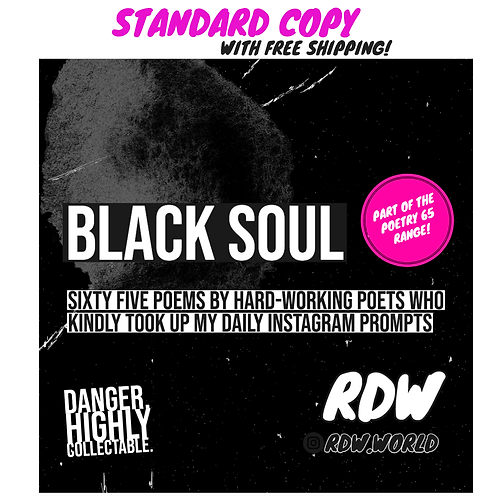 'BLACK SOUL' PAPERBACK VERSION