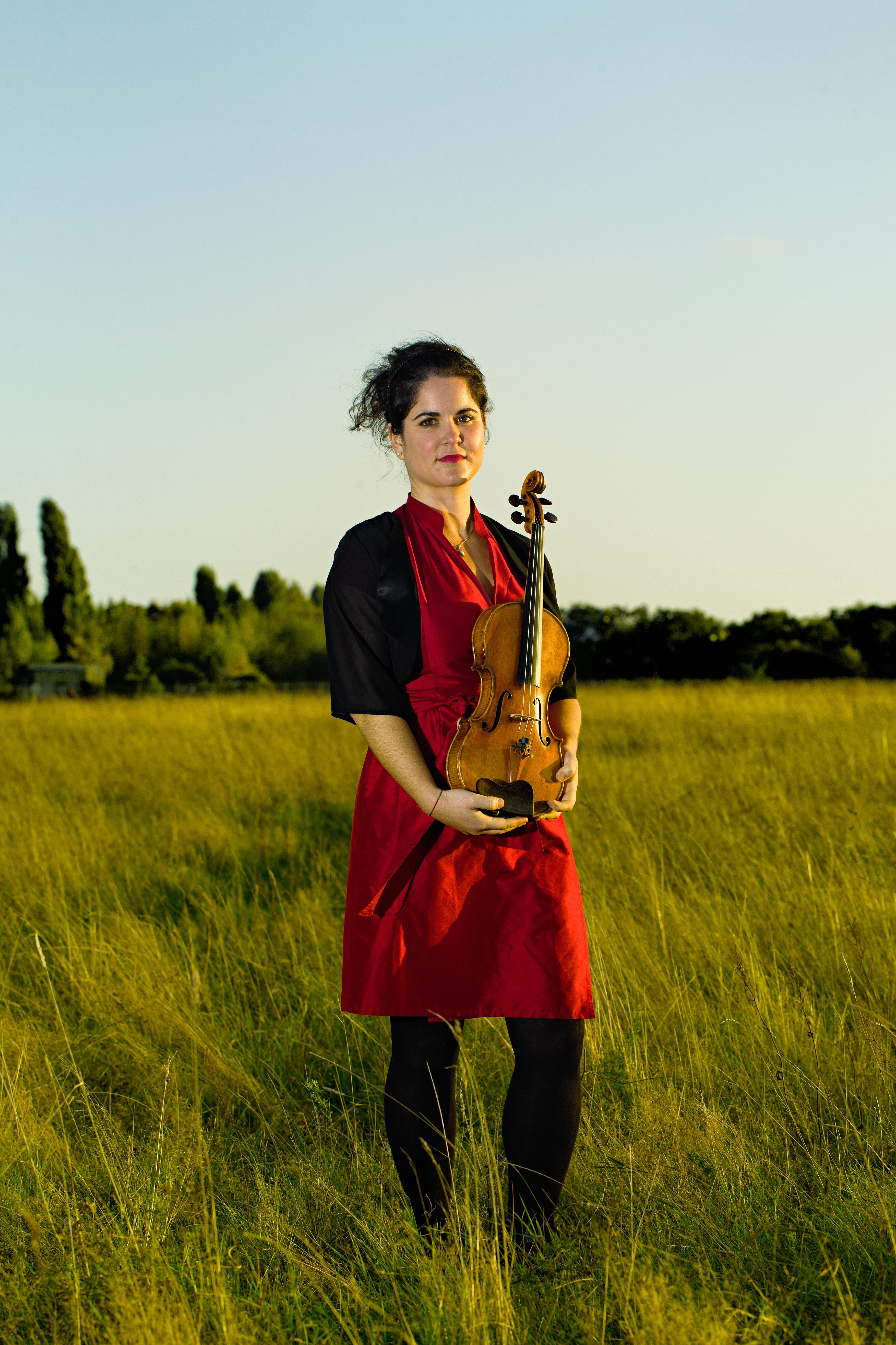 Avigail Bushakevitz, violin