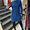Thumbnail: Royal blue dress with yellow line
