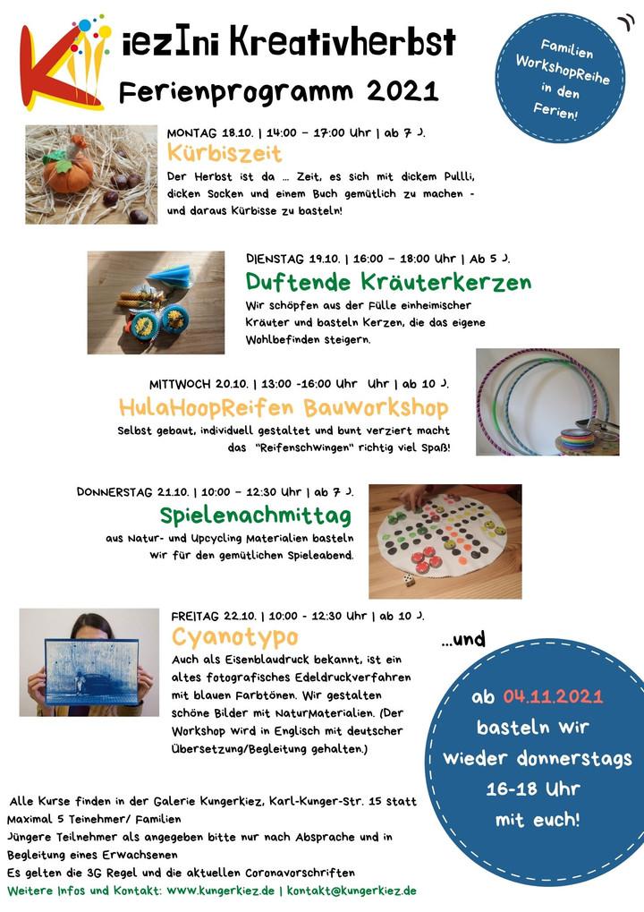 Unser Herbstferien-Programm für euch