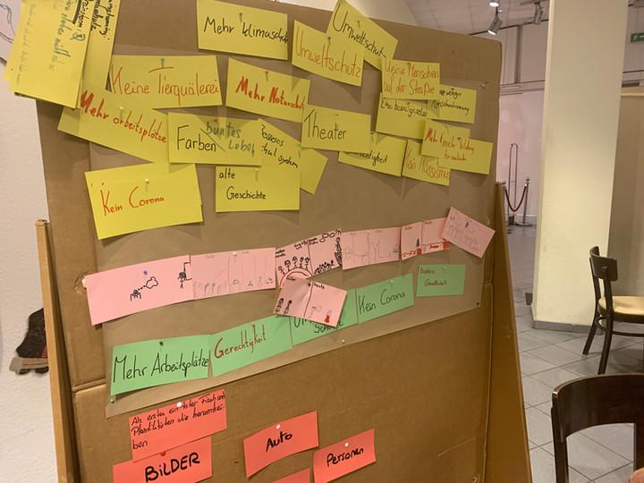 2. Tag unsres Ferien-Workshops - Perform the light