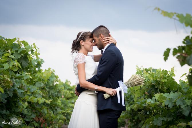 Mariage Champêtre et Vintage tout en élégance au cœur des terres... Anne et Gaspard - Juillet 2016 -