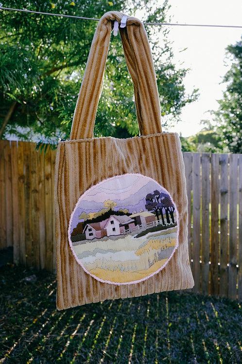 Cord Cottage Bag