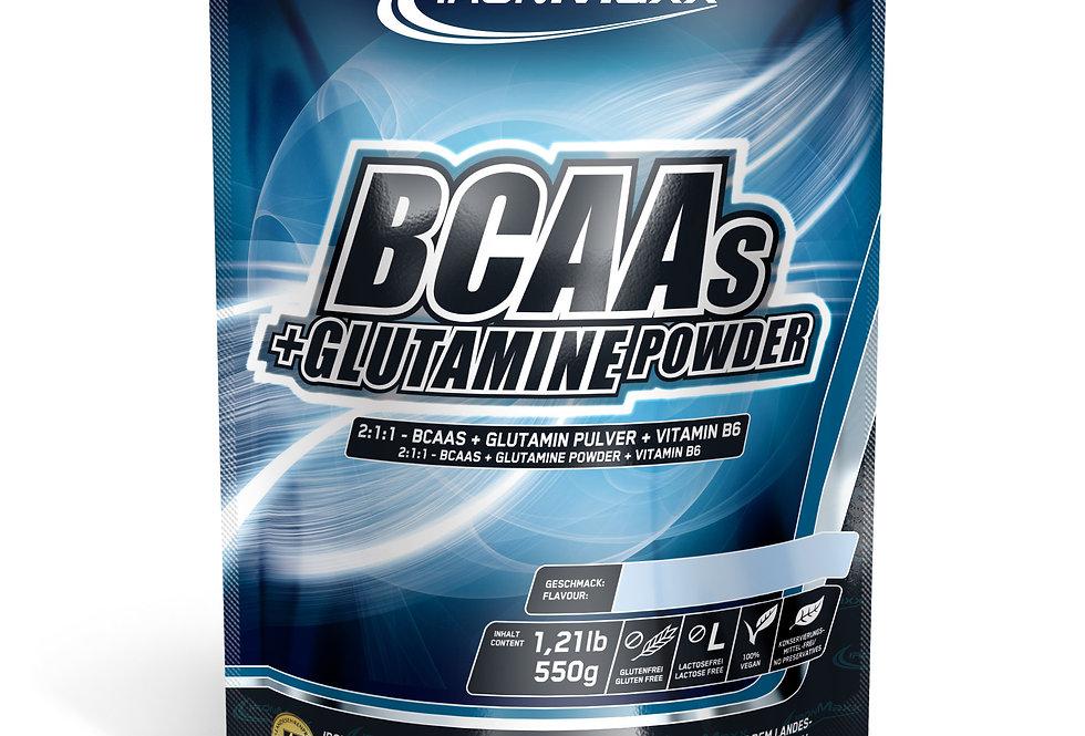 BCAAs+Glutamin Pulver IronMaxx