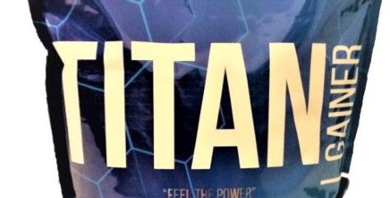 """TITAN """"GEWICHT"""" GAINER 3kg"""