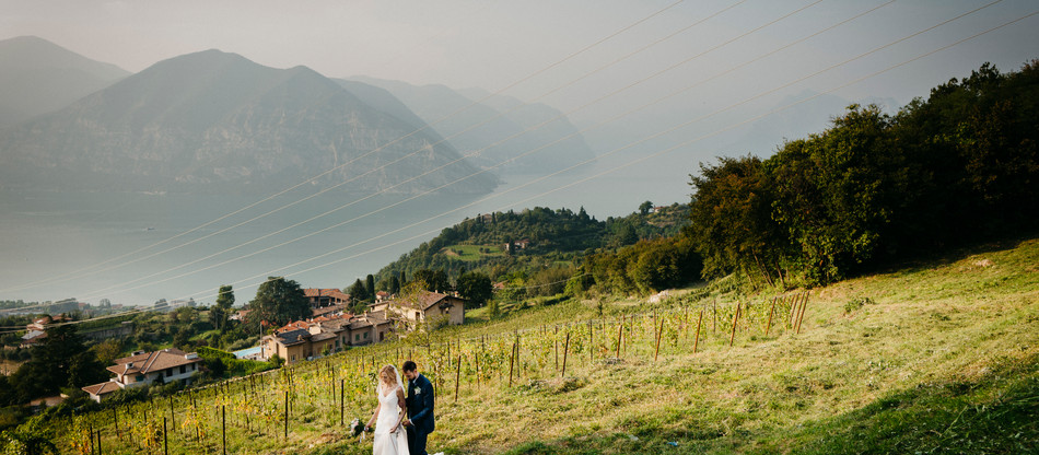 Italian-Spanish wedding on Iseo lake