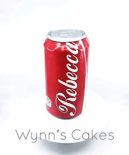 Cola Can Cake