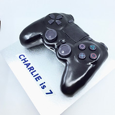Playstation remote control cake
