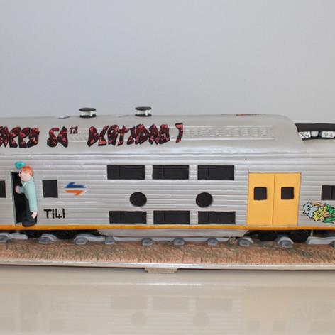 CityRail Train Cake