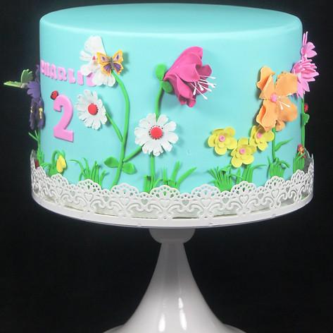 Floral Garden Cake