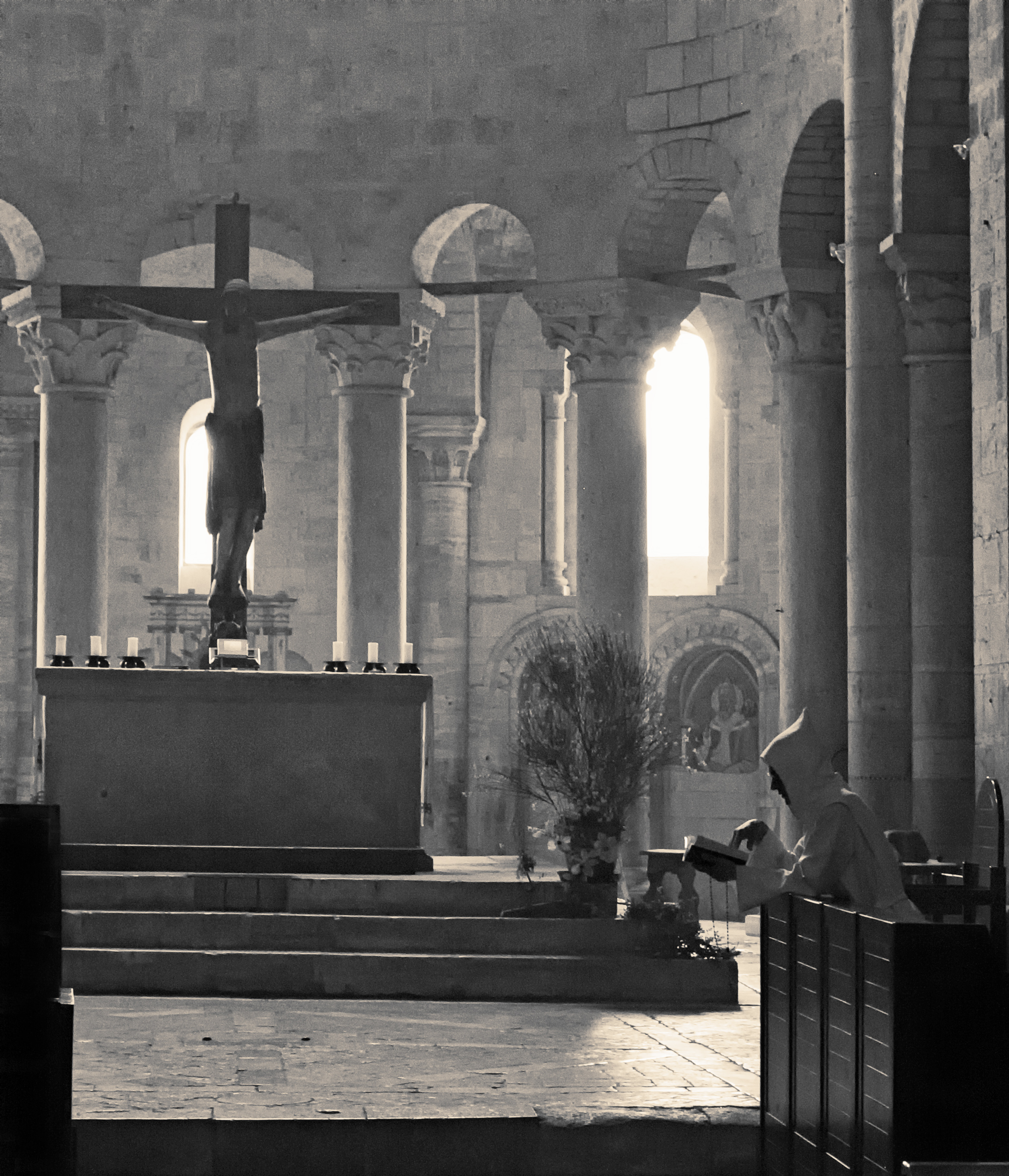 Sant' Antimo, Toscana