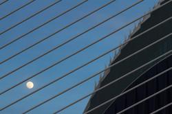 Moonrise in Science Park