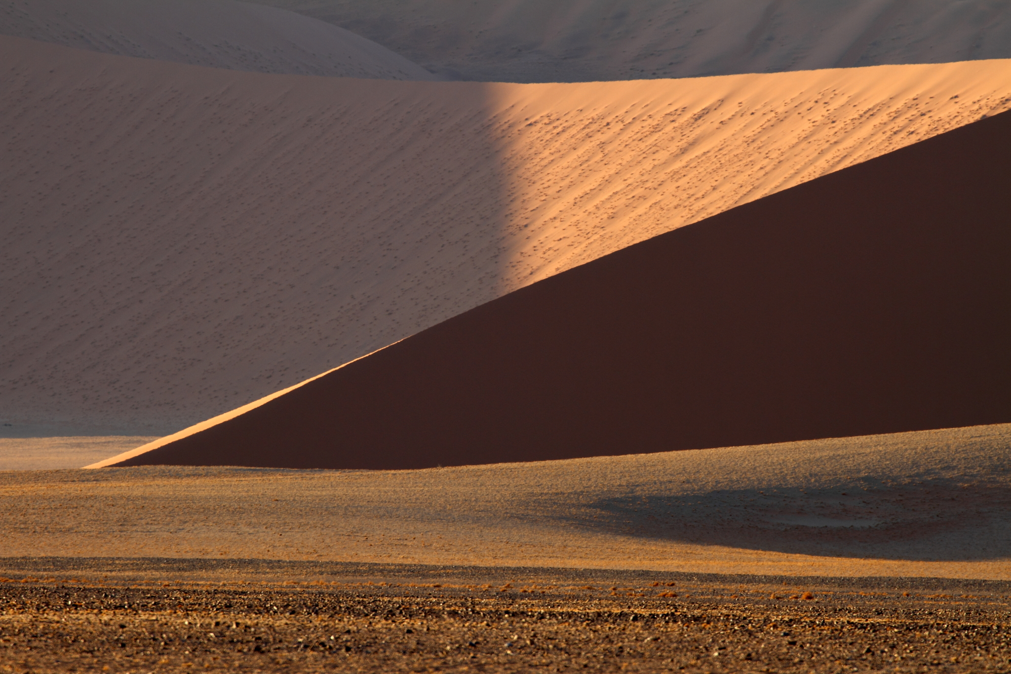 Sand Waves (Namibia, Sossuvlei)