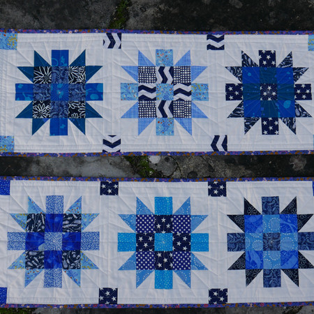 Blueish Table Runners