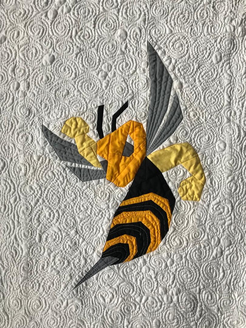 Hornet - the school mascot