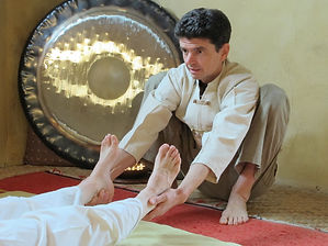 Olivier Lelouch, Massage-yoga traditionnel thaïlandais