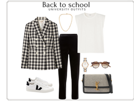 Back to school - University outfits