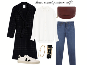 Parisian Capsule Wardrobe - Outfit of the Day