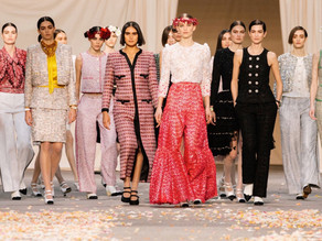 The Chanel Spring - Summer 2021 Haute Couture fashion show